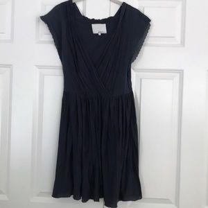 3.1 Phillip Lim Navy Silk/Cotton Dress
